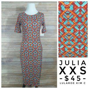 LuLaRoe Julia Dress (XXS)